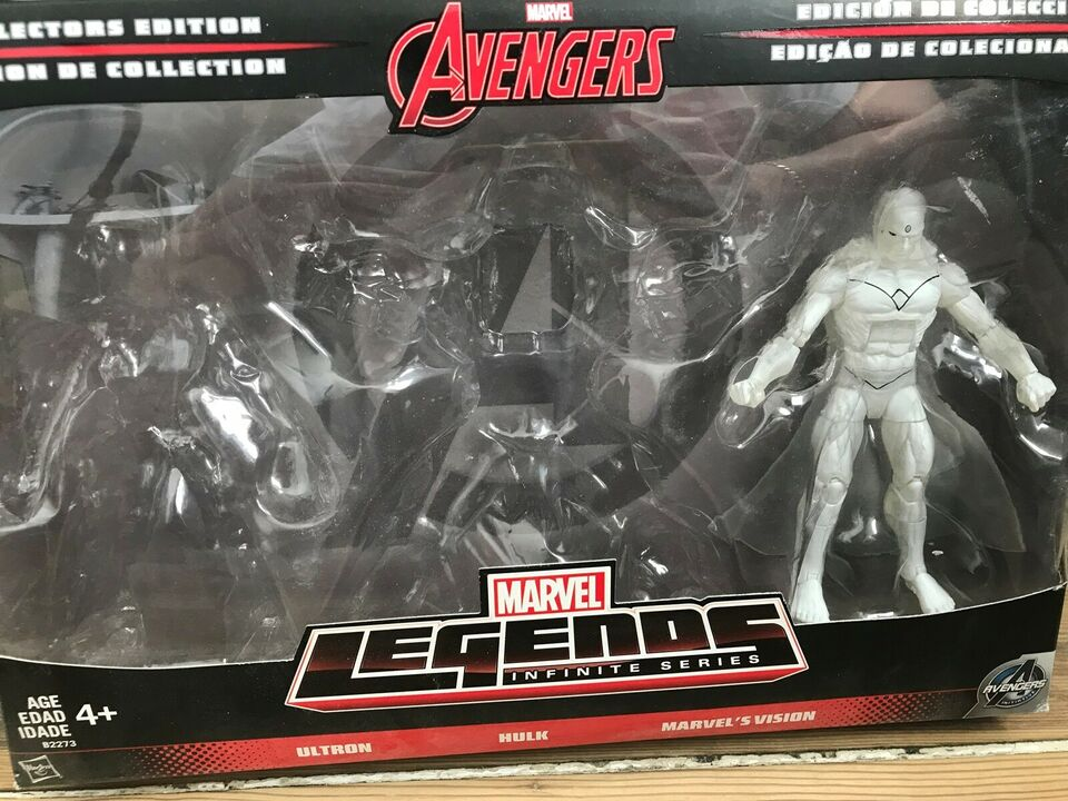 Hvid Vision - Marvel Legends 3-pack (MIB), Hasbro