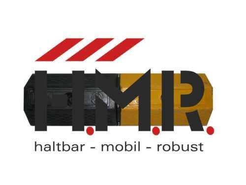 Gummirad Stopper L 500 x B 160 x H 100 mm