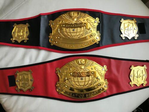 Kids~Junior Boxing Belt~Boxer~Rocky~Fancy dress~Childrens~Good Quality~FREE P/&P