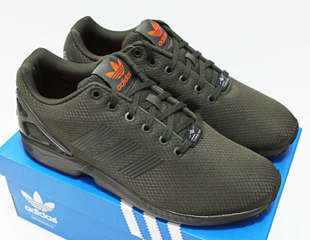 adidas originals zx flux men Green Shop