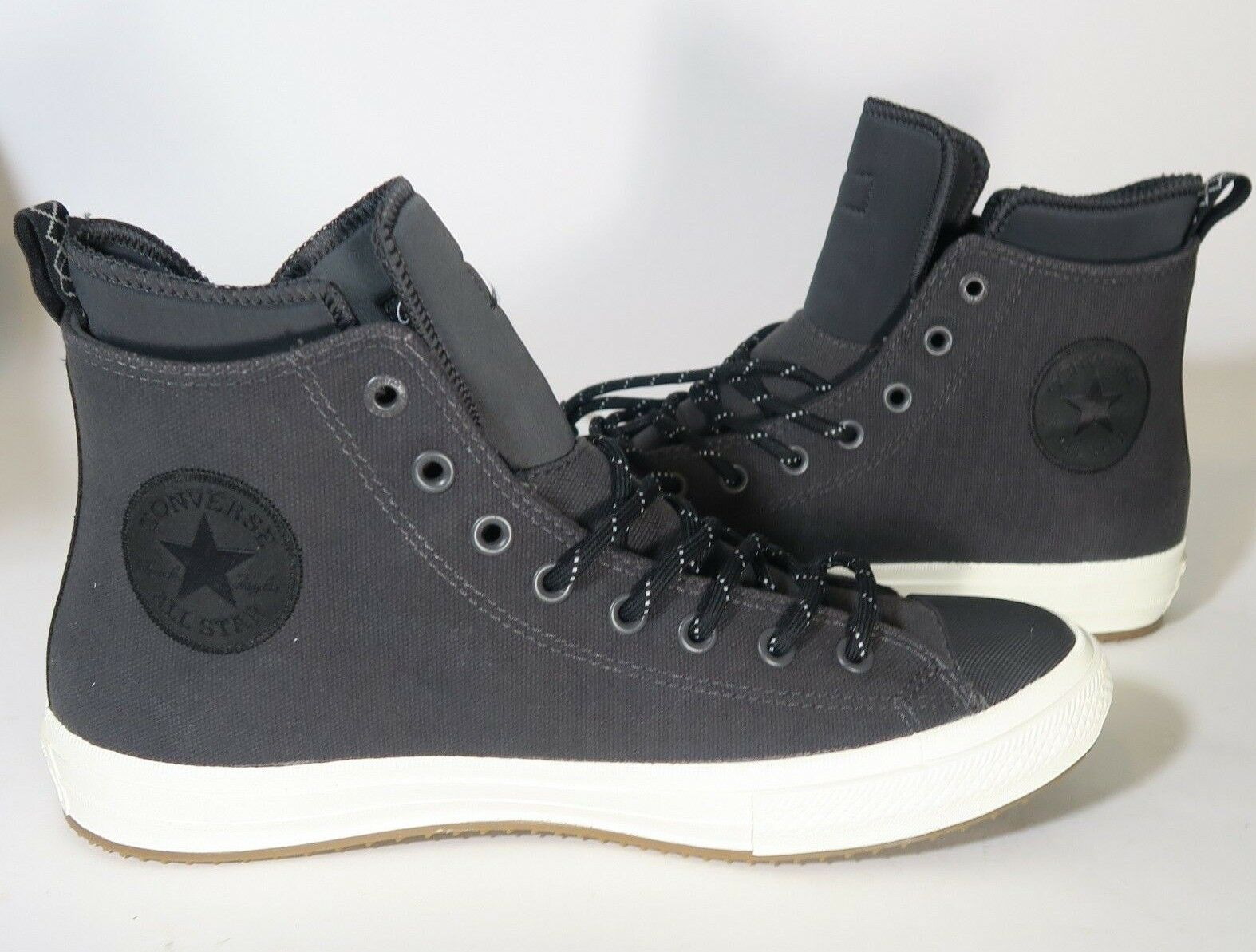Converse Chuck Taylor All Star II Boot High Top Almost Black Sz 5.5, 11 153568C