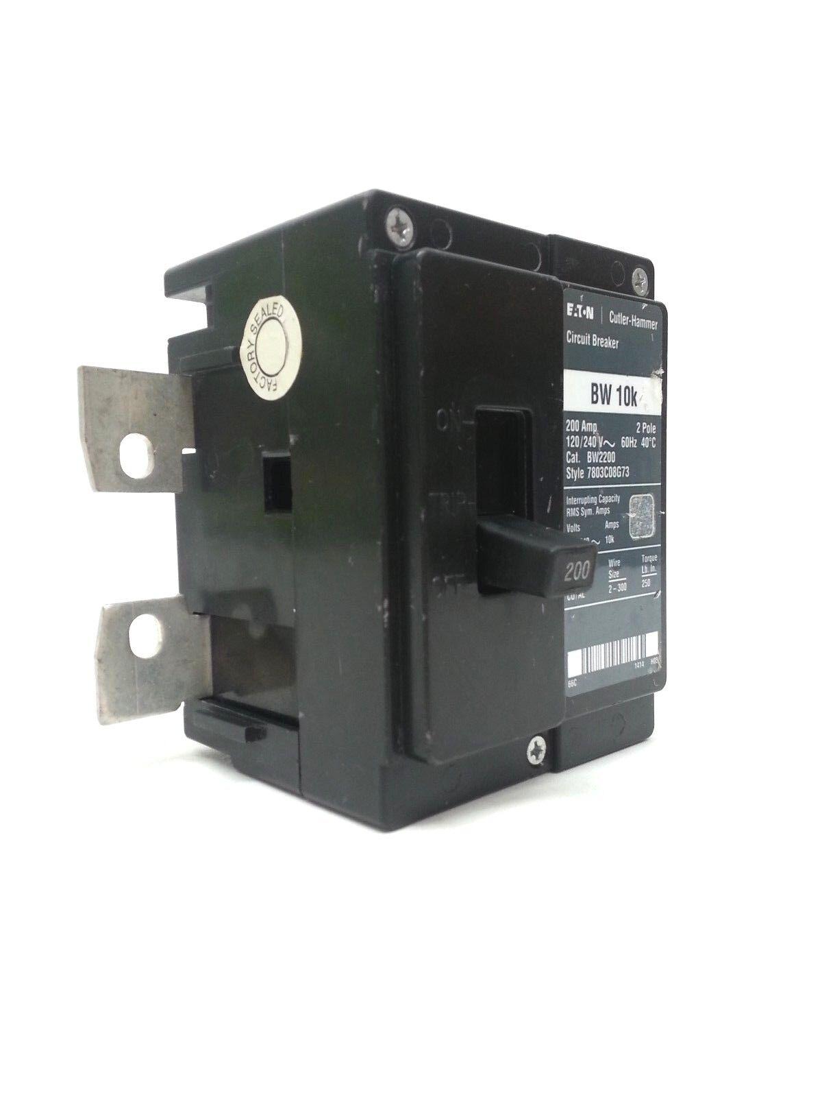 Eaton Br 200 Amp Main Circuit Breaker Bw2200 Ebay Power 16 Wifi Use