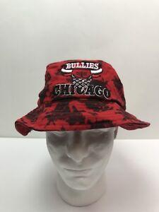 Chicago bullies Tye Dye Bucket Hat Vermelho Preto Mu  Ku  Headwear ... 58cd01f23b51