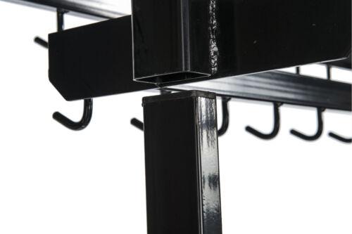 Garderobe 60 Haken Stahl rollbar zerlegbar perfekt für den Transport neu