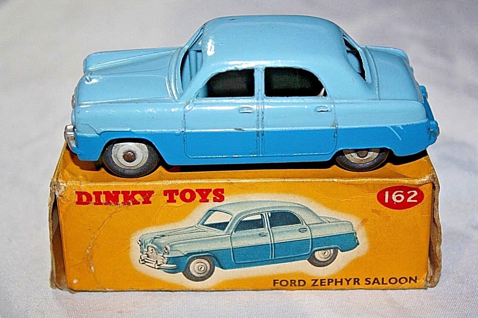 Dinky 162 Ford Zephyr saloon, superbe état dans boîte d'origine