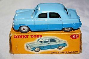 Dinky 162 Ford Zephyr Berline, superbe condition dans son écrin d'origine