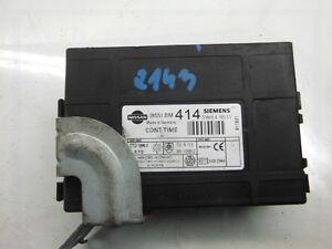 Computer-ECU-Steuergeraet-Nissan-28551BM414-Siemens-5WK48511-Warranty-Garantie