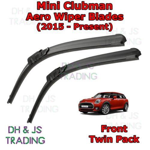 Mini Clubman Aero Wiper Blades//Front plat lame essuie-glaces JCW F54 15-19