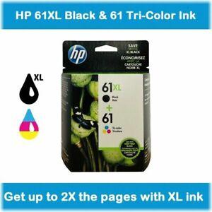 HP-61XL-Black-amp-61-Tri-Color-ink-2-pack-DeskJet-3052A-3051A-3050
