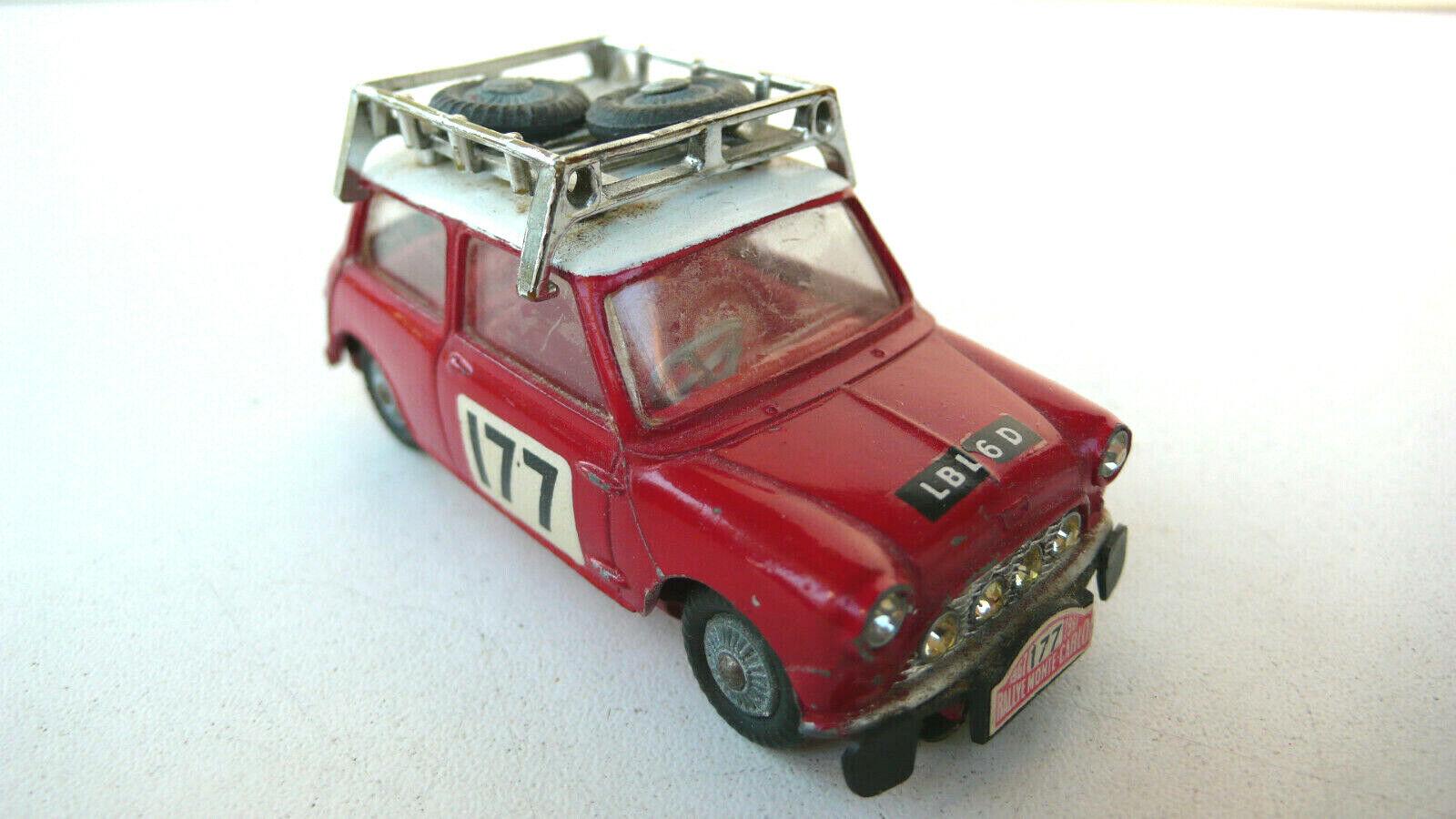 CORGI TOYS     BMC MINI COOPER  S  MONTE-CocheLO 1967   REF 339     BON ÉTAT