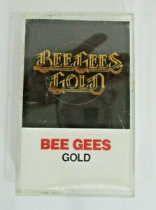 The-Bee-Gees-Gold-Cassette-Tape-1976-Polygram-Records-vintage