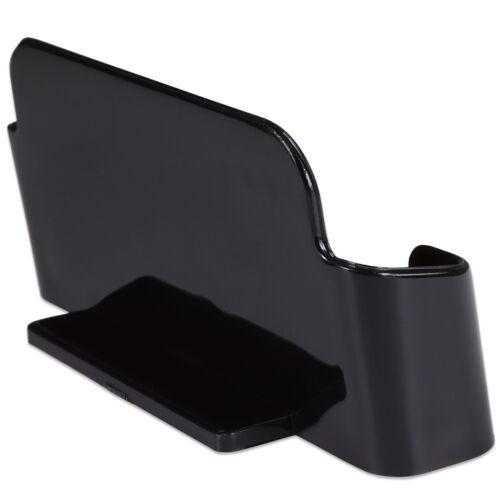 12pcs Black Acrylic Business Card Holder Display Stand Desktop Countertop