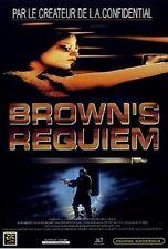 DVD FILM POLICIER : BROWN'S REQUIEM PAR LE CREATEUR DE L.A. CONFIDENTIAL