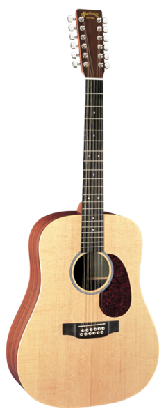 martin d12x1ae 12 string dreadnought acoustic electric guitar ebay. Black Bedroom Furniture Sets. Home Design Ideas