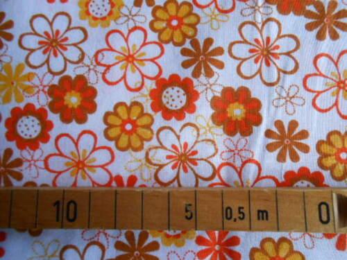 """Baumwolle /""""Blumen/"""" verschiedene Farben und Muster Öko-Tex Meterware"""