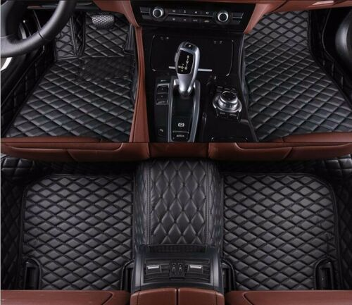 6 Colors Leather Floor Mats for Jaguar F-PACE 2016-2018 Waterproof Carpets Liner