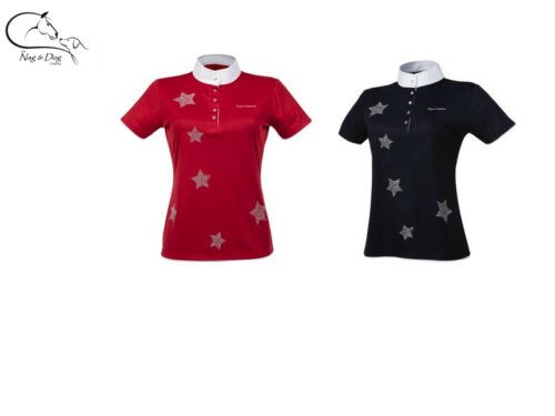 Equitheme Star Detail Ladies Technical Competition Show Shirt Jumping & Dressage
