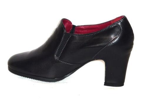 H2022 Comoda Bottines cuir Moda femmes 39 noir en Tronchetti Melluso N pour SHw6OSxqp
