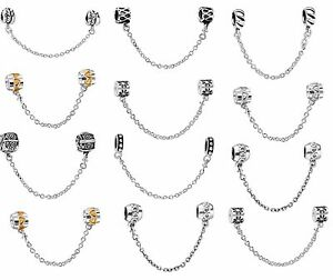 Popular-European-Bead-Safety-Chain-Charms-For-925-Silver-Snake-Bracelets-Chain