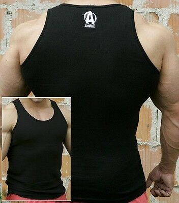 Universal ANIMAL ICONIC BLACK TANK TOP Limited Edition CHOOSE: LARGE or XLARGE
