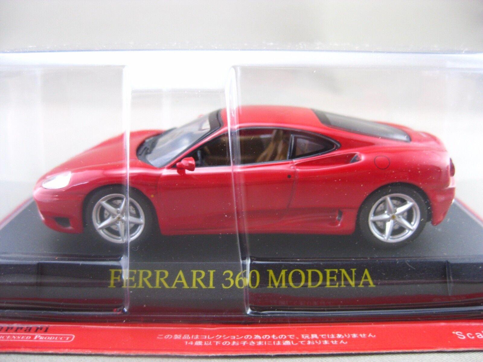 consegna diretta e rapida in fabbrica Ferrari F360 F360 F360 MODENA hachette 1 43 Diecast auto Vol.1  memorizzare