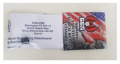 GG&G GGG-2206 GGG2206 - Remington TAC-13 QD Rear Sling Attachment