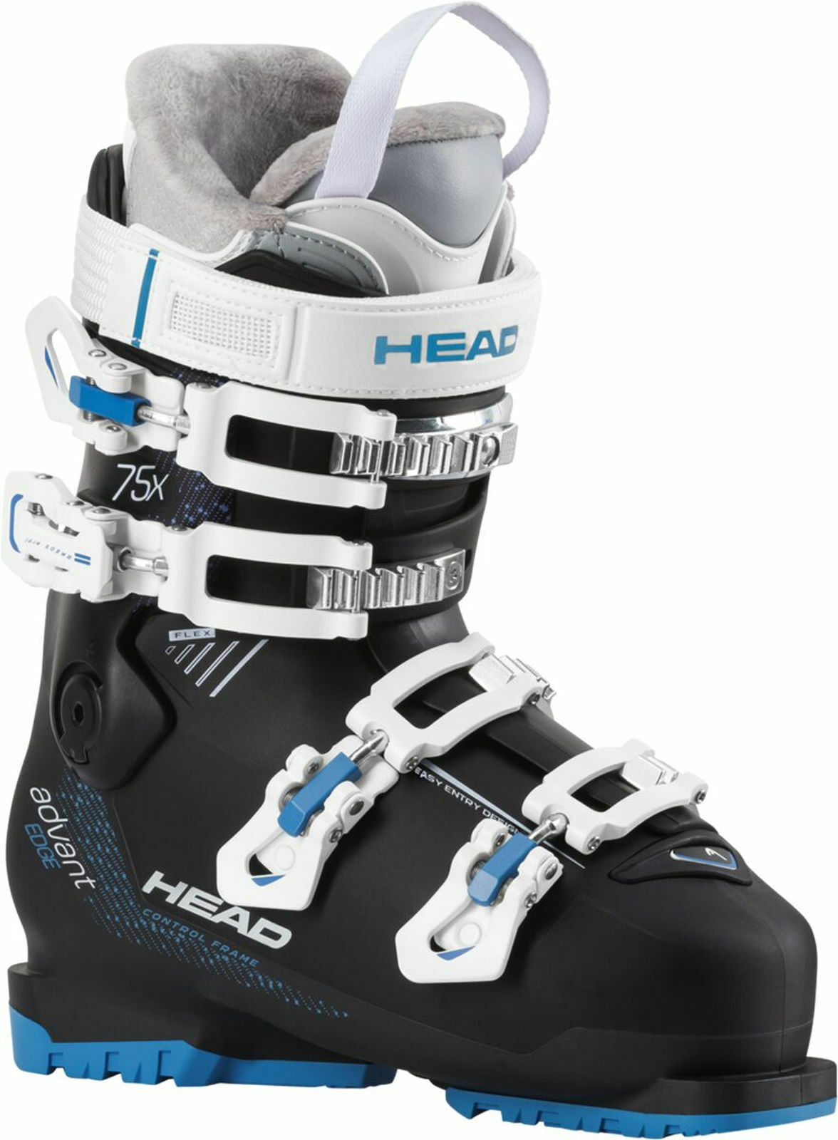 Head Ladies Ski schoen Ski schoen Advant Edge 75x Womannen's zwart blauw