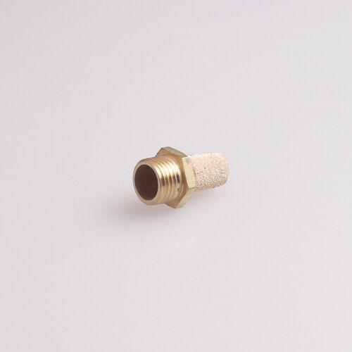 25Pcs Sinter Bronze Pneumatic Noise Silencer Muffler M5
