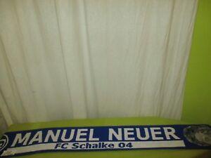 FC-Schalke-04-Original-Spieler-Namen-Schal-034-FC-SCHALKE-04-MANUEL-NEUER-034-NEU