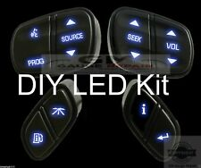 GM Steering Wheel Switches Controls Bulb to Blue LED Upgrade KIT Easy DIY