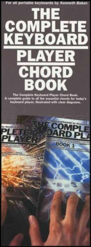 The Complete Keyboard Player Chord Book by Kenneth Baker All Chords /& Diagrams
