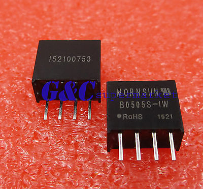 B0505S-1W DC-DC Isolation Power Module 5V To 5V For RS232/485 CAN IO 80% 20mHz