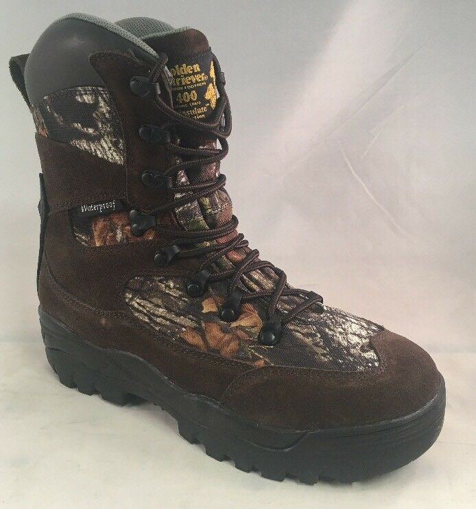 golden Retriever 4040 Hunting Boots, Waterproof, Insulated 400g Men's Size 9