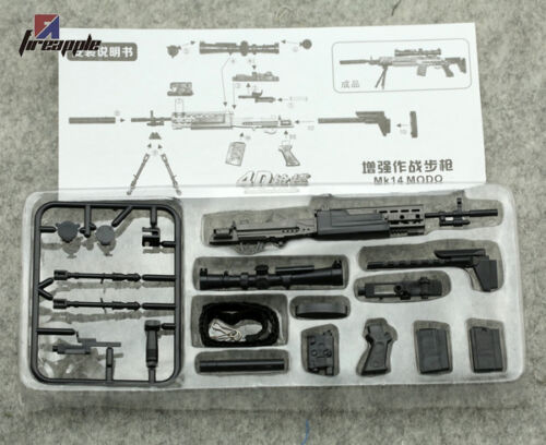"""MK14 MODO Sniper Rifle Weapon Gun For 1//6 Scale12/"""" Action Figure 1:6 Model Toy"""