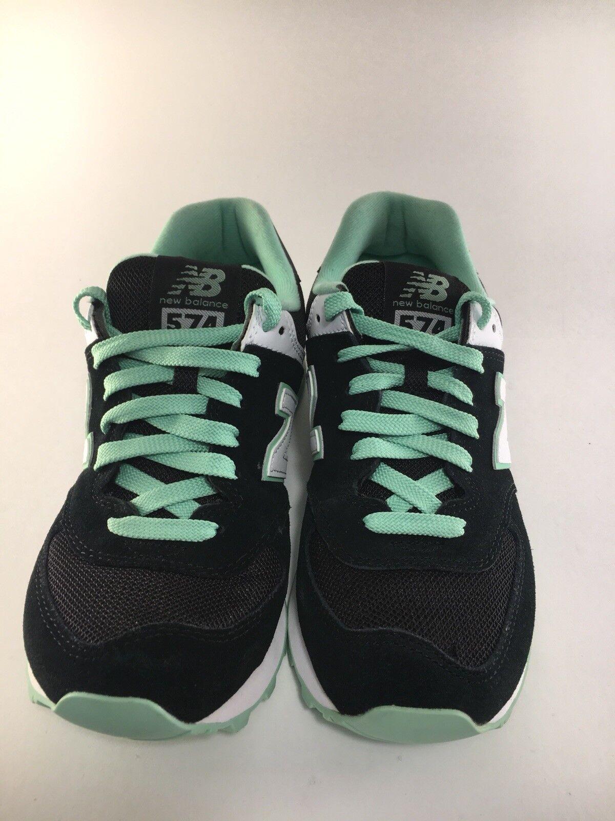 New Balance WL574CPC Black Green Women's Size 6.5 Running Running Running shoes b6e10a