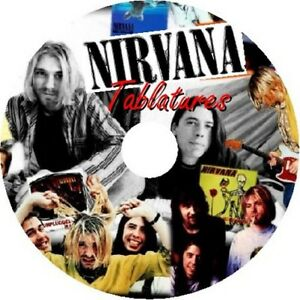 CD SET NEW BEST OF NIRVANA GUITAR TAB SONG BOOK
