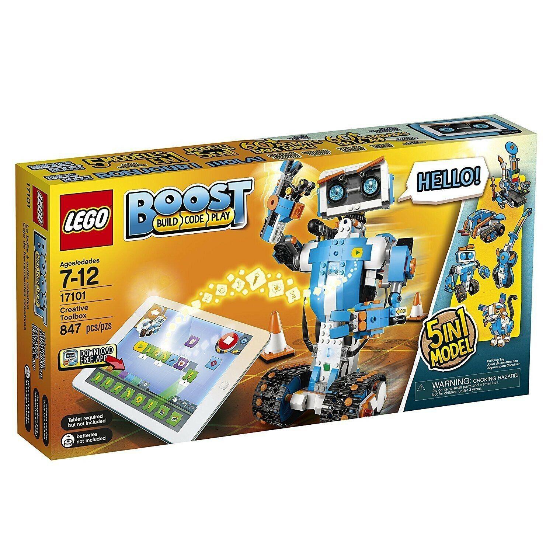 LEGO BOOST 17101 TOOLBOX CREATIVA