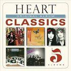 Original Album Classics [Digipak] by Heart (CD, 2013, 5 Discs, Sony Legacy)