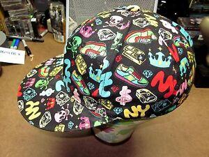 57452b77149 K B ETHOS baseball hat large New York fitted cap skulls symbols cash ...