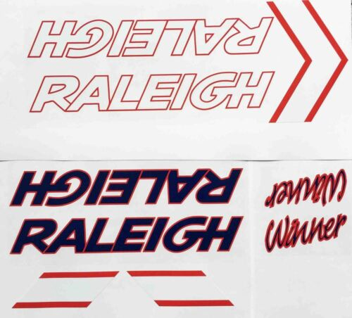 Raleigh Winner Decal set