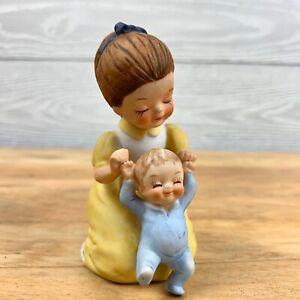Vintage-Josef-Originals-George-Good-little-Big-Sister-girl-Figurine