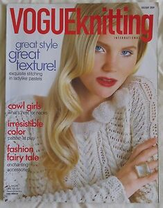 f824fe0d426d Image is loading Vogue-Knitting-Pattern-Magazine-HOLIDAY-2009-Women-039-