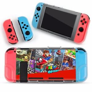 Super Mario Protective Plastic Case Cover For Nintendo Switch Gaming