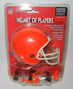 Riddell-NFL-Mini-Helmet-of-Players-Cleveland-Browns-Figures-Office-Desk-Toy-New