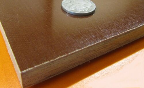 "3//8/"" Thick x 12/"" x 24/"" Garolite Micarta Canvas Phenolic CE Sheet .375/"""