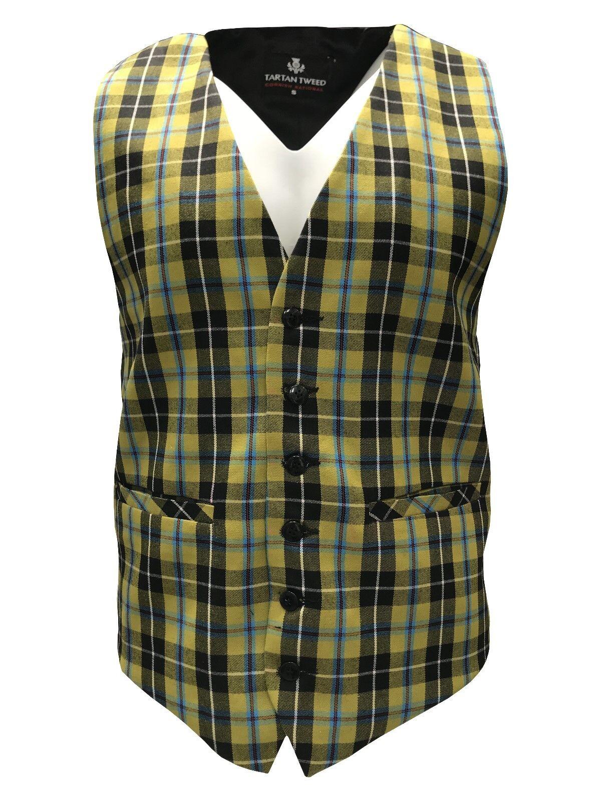 Gents Cornish National Tartan Waistcoat Small - 3XL