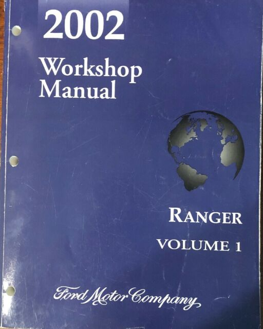 2002 Ford Ranger Truck Service Manual Set  3  Xl  Xlt  Edge