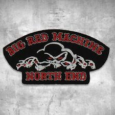 Support 81 Aufnäher Patch Big Red Machine North End Skulls HAMC North End