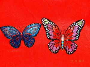 Handpainted Vintage SYROCO GOLD BUTTERFLY Wall Decor Plaques SET ...