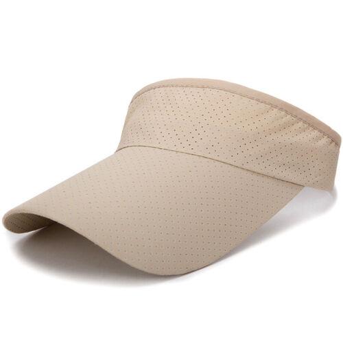 Sonnenblende Verstellbar Sport Tennis Golfkappe Stirnband Herren Damen Sommerhut